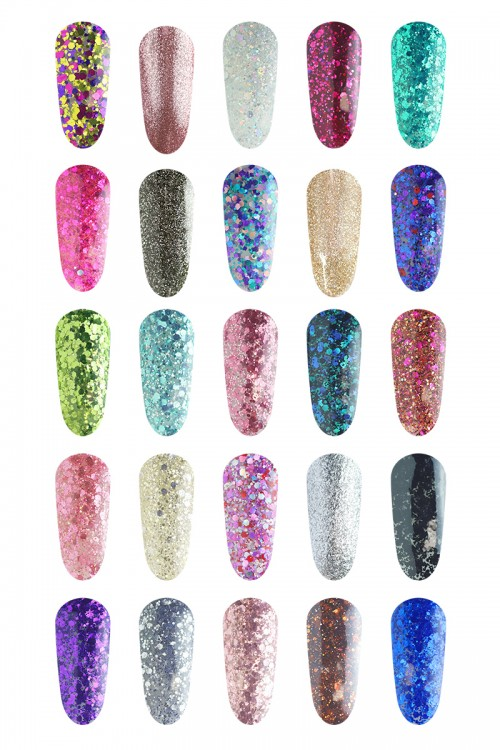 Glitter Collection set